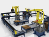 Automatic Robot Palletizer for Beverage Industry
